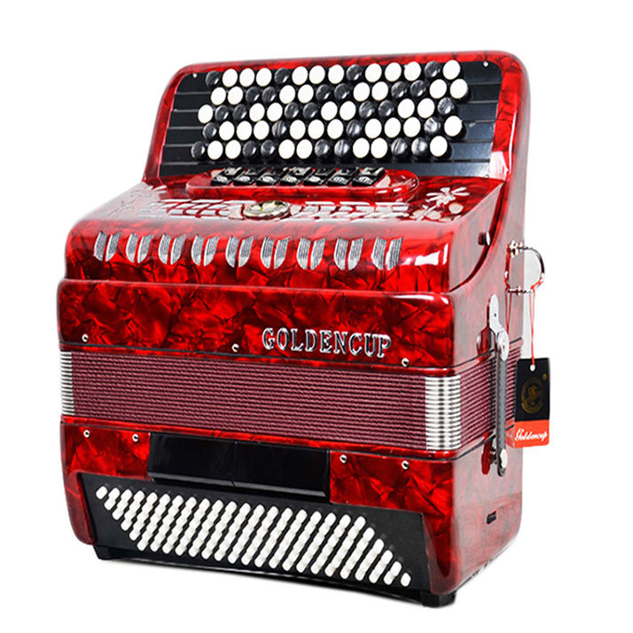 JH5120 70 key, 120 bass, 7+2 registers button accordion, accordions