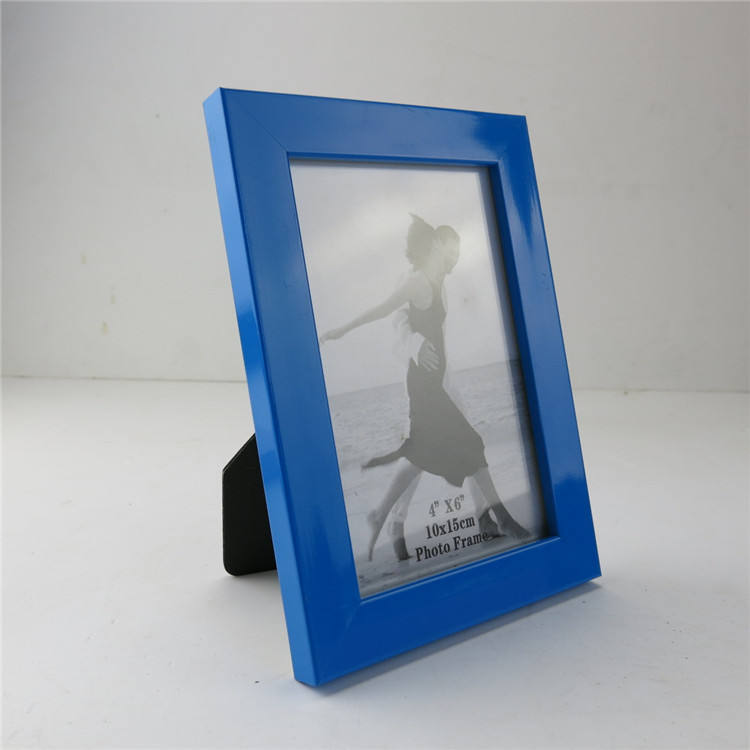 Colourful Plastic Picture Frame 4x6 5x7 6x8 8x10 Custom design shape jigsaw puzzle frames