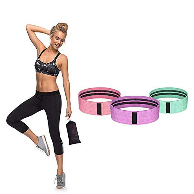 3 Pc Veelbelovende Custom Sport Yoga Gym Yoga Oefening Pull Up Elastische Fitness Band Hip Cirkel Loop Resistance Bands <span class=keywords><strong>Groothandel</strong></span>