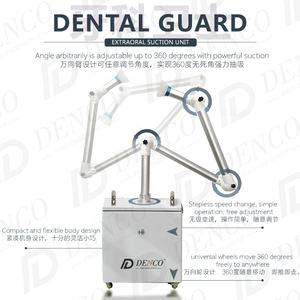 Denco Dental Guard Extra oral Suction Unit Protective Function Safe 360 Degree Powerful Suction