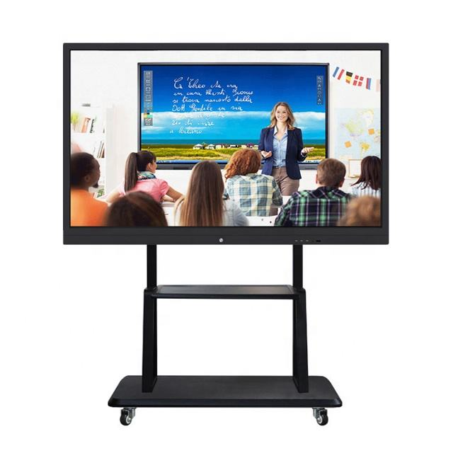 65 inch GuangDong Smart LED Interactive Touch Screen TV Built-In PC All In One Desktop for Education