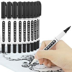 New style CE certification black dual tips permanent marker pens