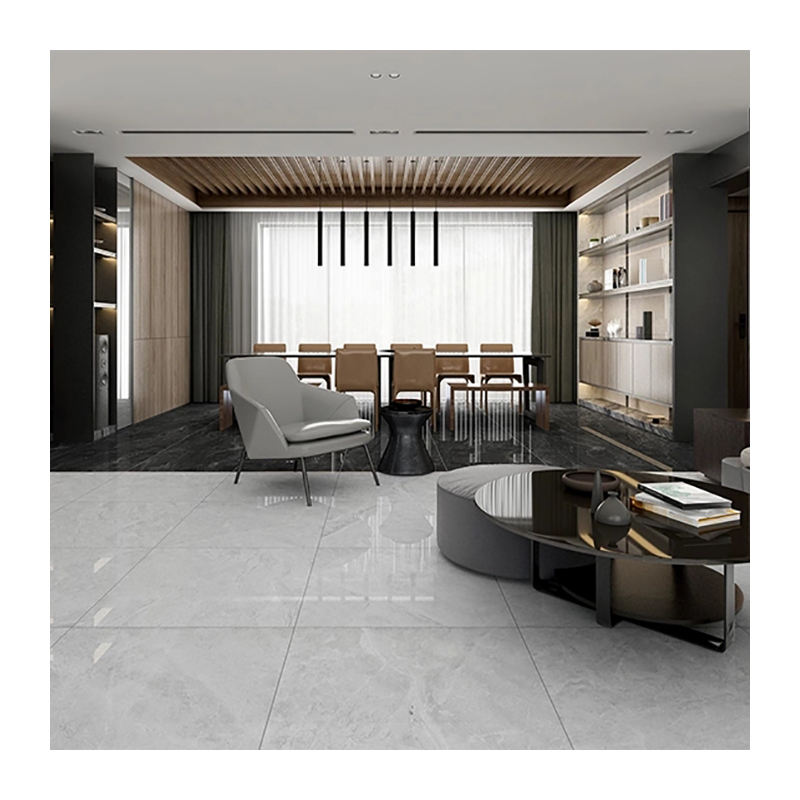 big slab modern design grey color marble design Ceramic wall and floor tiles