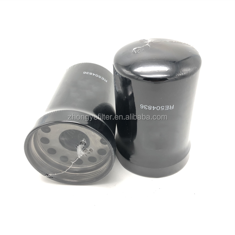Oil filter RE504836 for automotive engine parts