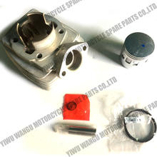 Cylinder Kit piston cylinder engine gasket Airsal scooter for Peugeot Fox 50CC New 46MM Pgt40 PGT cylinder