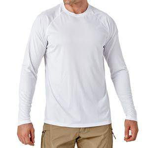 Customised Men's Sun Protection T-Shirt UPF 50+ UV Long Sleeve Hoodies Fishing Shirt 100% Polyester Softness Shirts