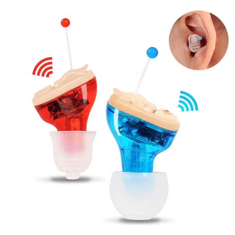 Gli Anziani Invisibile Mini Vendita Calda Amplificatore Cic Digital Ear Sound Hearing Aid