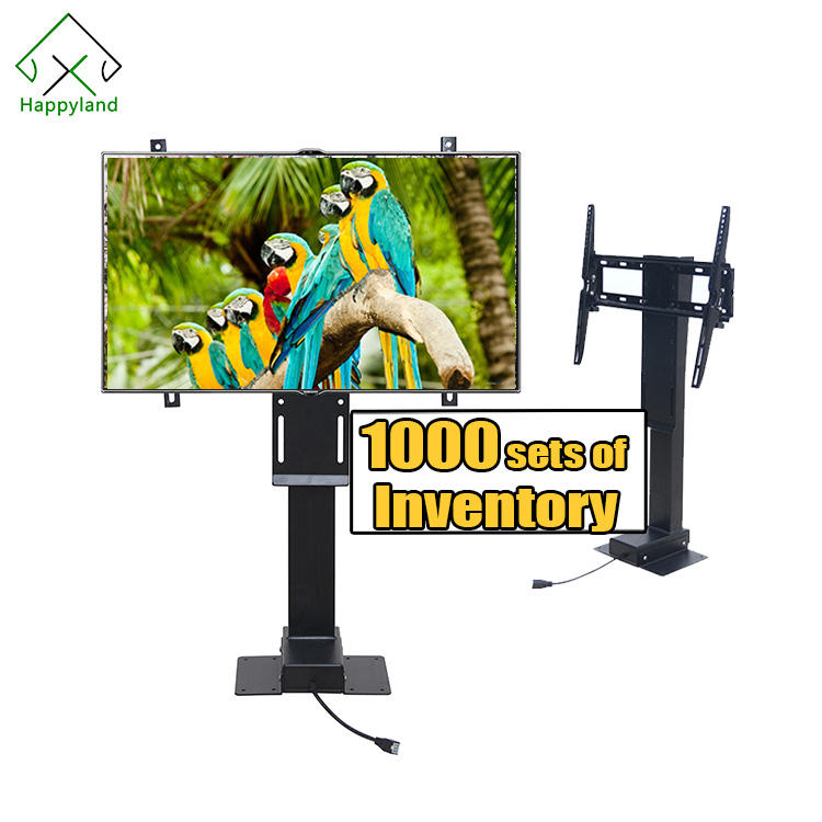 Factory Supply Led Wall Mount Stand Automatic Mechanized Systems Motorized Lcd Tv Lift