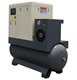 7.5 kw 11 kw 15 kw Oil lubricated portable type screw air compressor with air tank, air dryer
