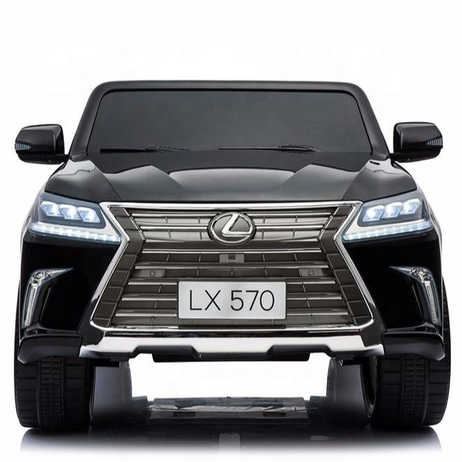 Licensed car kids Lexus lx570 12V newcars radio control toys kids toys online kids electric car ride with television