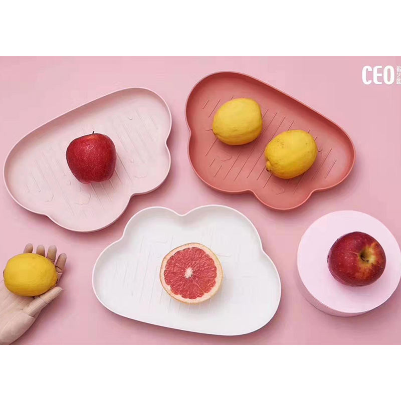 Creative Fruit Bowl Home Snack Plate Plastic Candy Dish Serving Plate