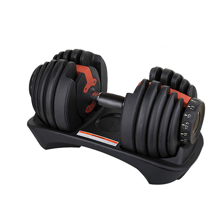 Adjustable Weights Dumbbell Set For Body Building Custom Gym Fitness Equipment