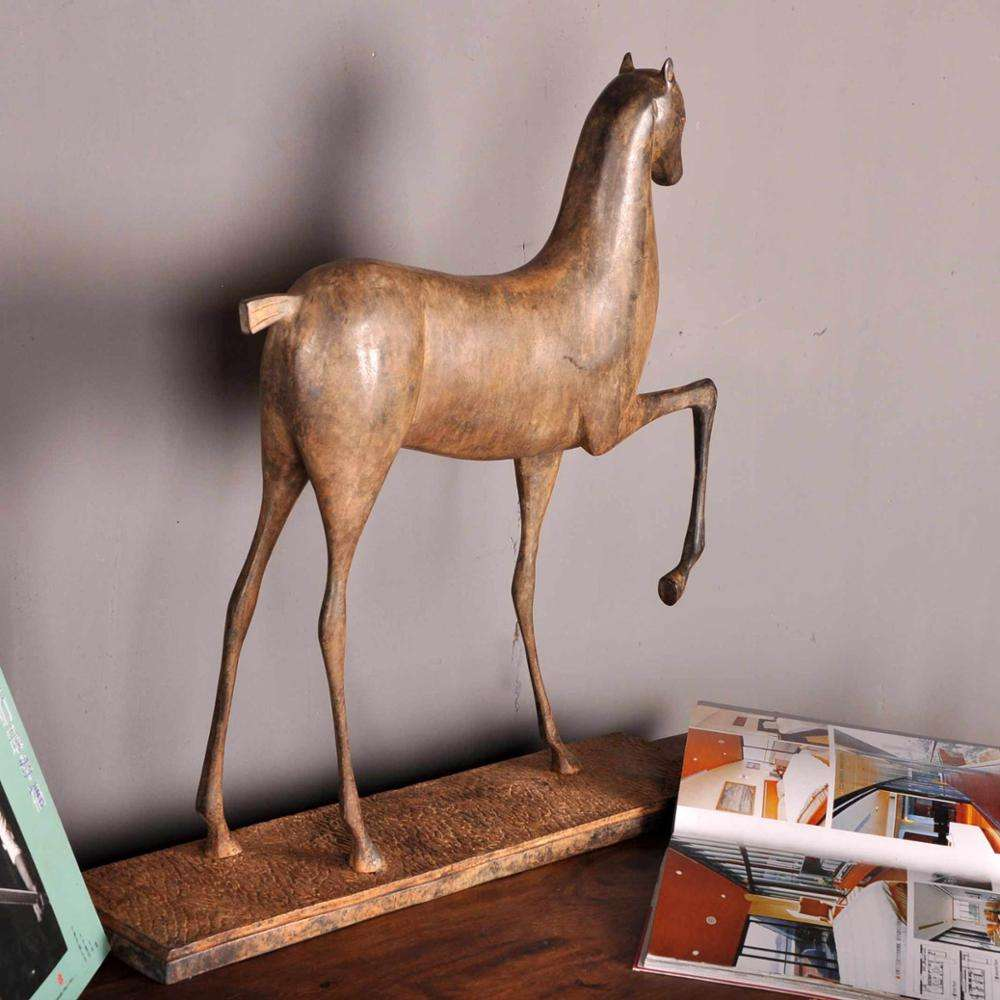 Thai Handicrafts Home Decoration Copper Pony Ornaments Arts And Crafts Other Home Decor