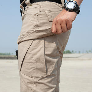 Custom Summer Outdoor Combat Ripstop Pants Tactical Trousers, Cargo Hiking Pants Men Quick Dry,Elastic Jogger Pants