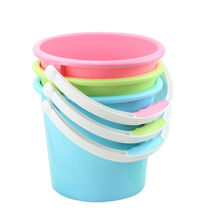 7L cheap plastic water storage round portable small bucket