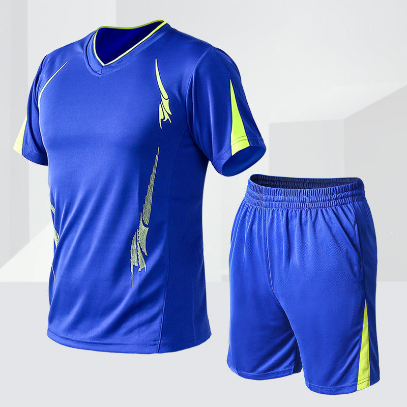 Plus size outdoor sports running basketball soccer uniforms sets for man M - 9XL