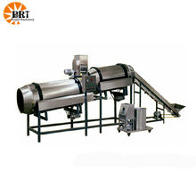 double drum flavoring machine seasoning drum spray fish feed flavor machine