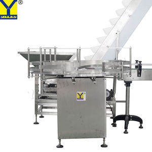 XZJ-2A High Speed Tin Can Rotary Bottle Feeding Turntable Unscrambler Sorter Machine for Filling Labeling Machine