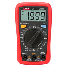 UT33D+ 1999 Counts dc tester multimeter unit multimeter voltage meter multimetro digital