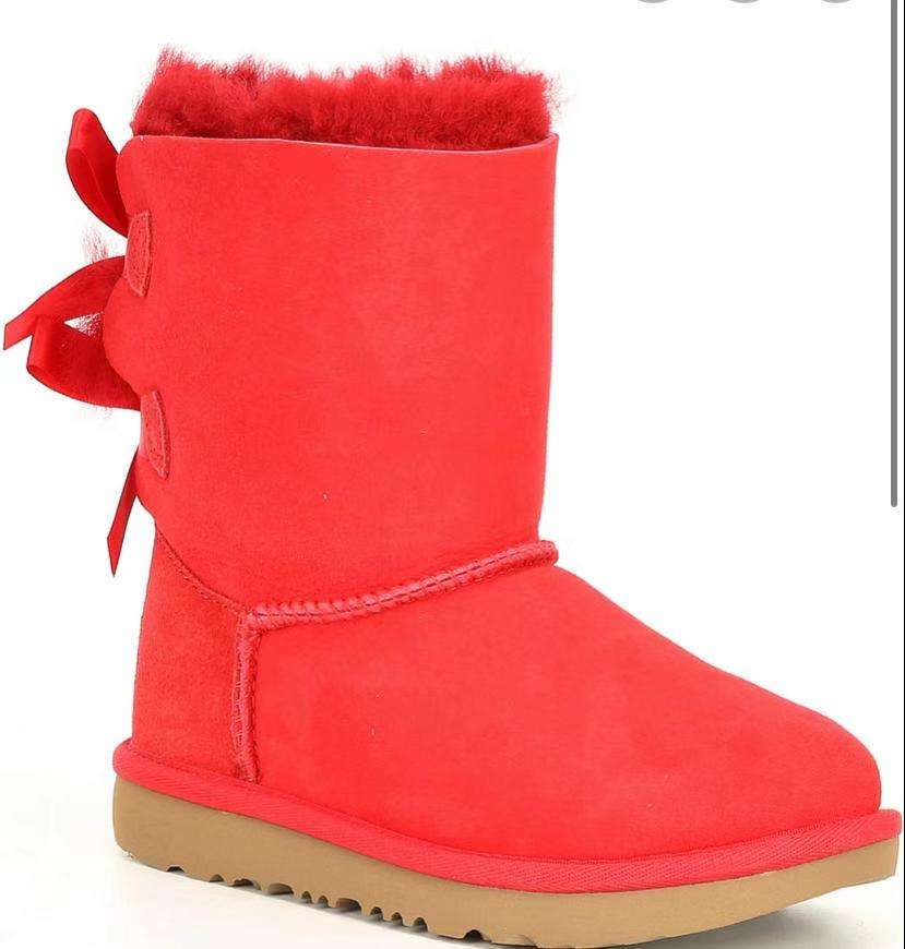 Wholesaler fashion best selling warm winter bow female snow boots