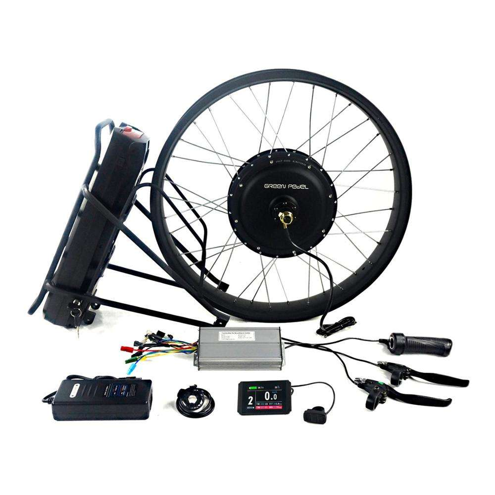 Greenpedel China 48V 1000W Fat Bike Conversion Rear Wheel Electric Bicycle KitとLithium Battery