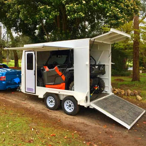 10ft Ultimate Toy / dirtbike / atv utv tandem box trailer caravan camper