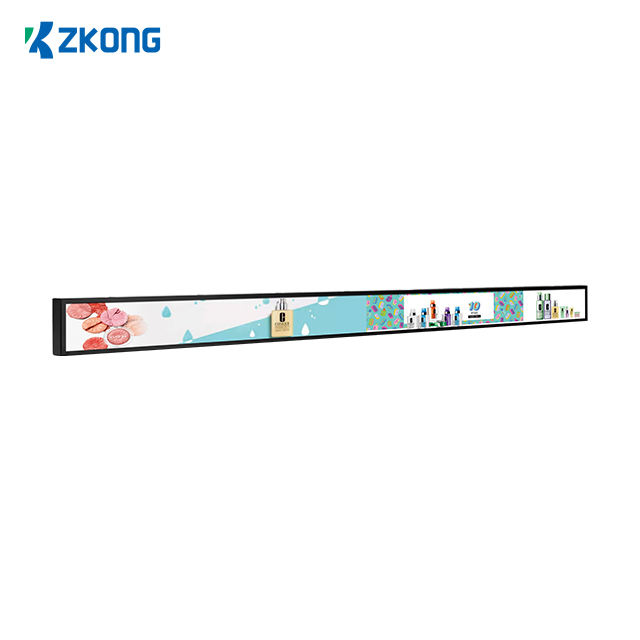 Zkong digital shelf display LCD 23.1 inch diy advertising player ZKL231