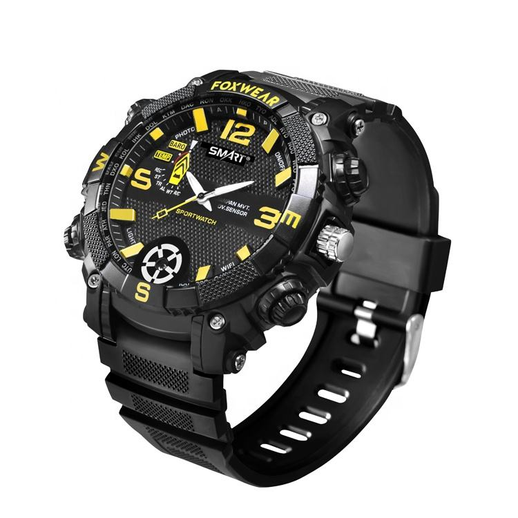 1080P invisible Waterproof Sport Wifi Watch Hidden Spy Camera CCTV Camera on the Watch FOX9C