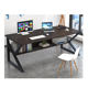 Furniture Table Office Computer Desk Table Simple Portable Cheap Wooden Home Laptop Desk Furniture Metal Study Computer Table For Office