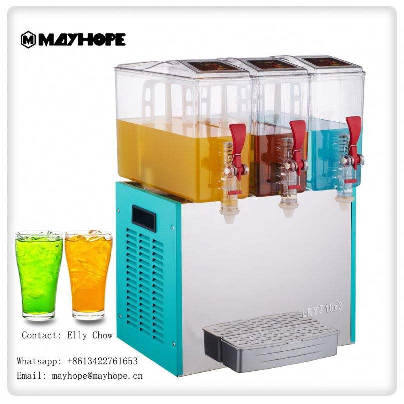 Drink Dispenser 3 Compartment Storage,With Special Function as Spins /& Slides for Easy Selection