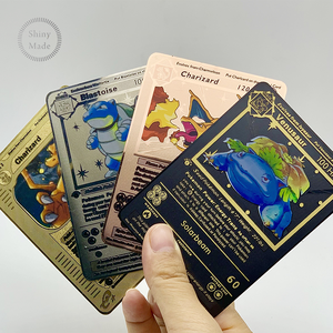 2020 Nieuwste Engels Versie Metalen Pokemon Kaarten! Pokemon Mega Ex Trading Card Game Carte Pokemon