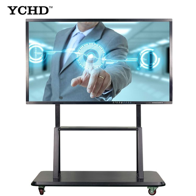 98 inch interavtive whiteboard touch screen all in one computer for video confercence