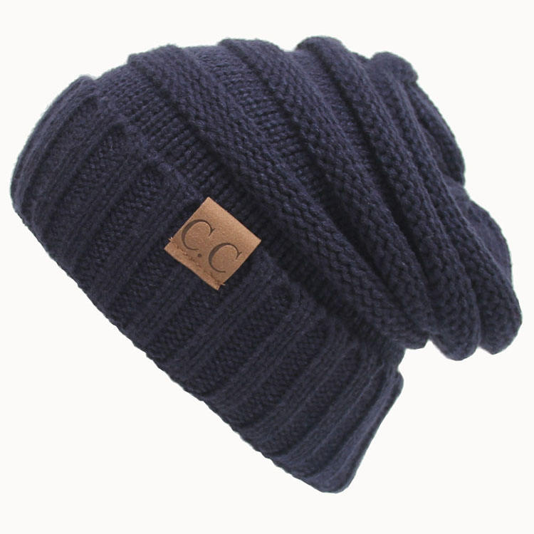 Amazon hot-selling CC hats outdoor warm windproof beanie