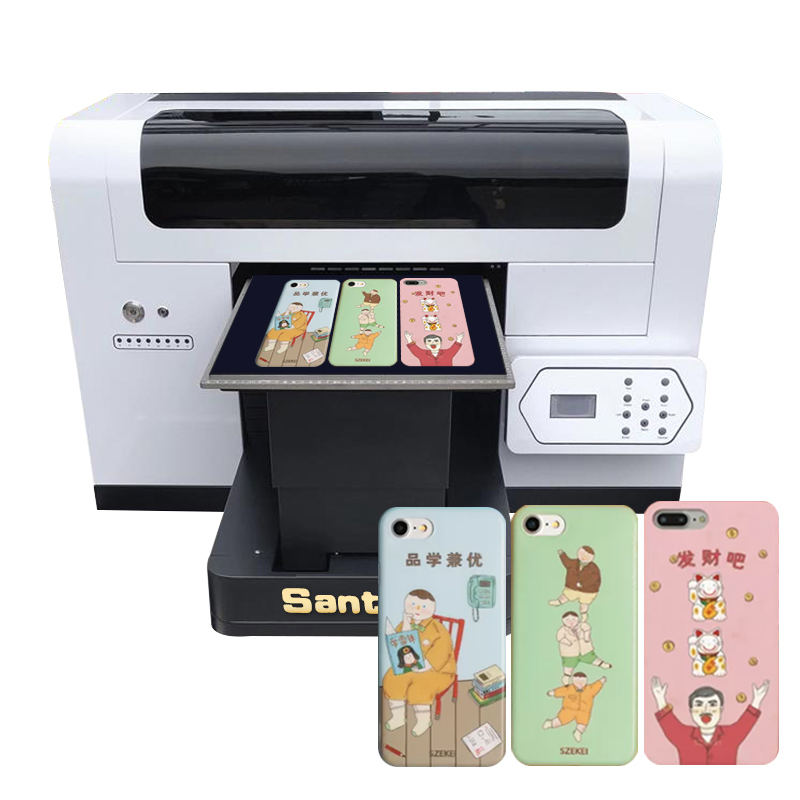Produk Baru 2020 A3 Ukuran 1440 DPI UV Flatbed Printer Pena/CD/Phone Case Printer dengan XP600 Kepala