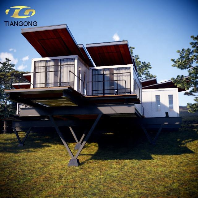 China supplier steel movable prefabricated house