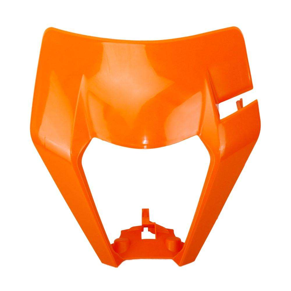 Motorcycle Universal Headlamp Headlight Plastic Cover Mask For KTM EXC SX SXS EXCF XCW SMR 125 150 250 300 350 450 500 525