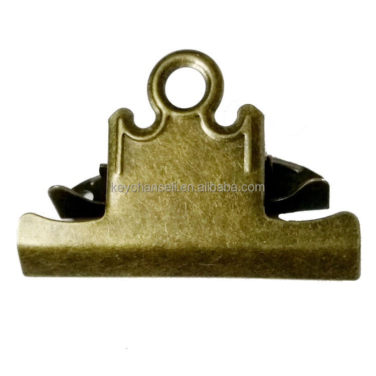 78mm good quality popular antique bronze metal clipboard clip age clips bulldog clip for menus board