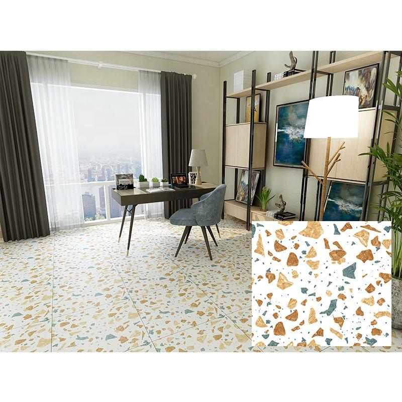 Polished Porcelain Tile 24x48 ImperialGold Carrara Calacatta Glazed Inkjet Floor