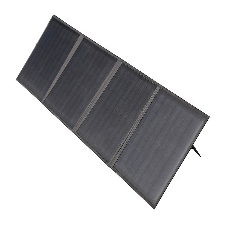 High quality 60W portable folding solar panel charger for laptop and battery