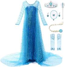 Girls Princess Costume Birthday Party Halloween Cosplay Dress up