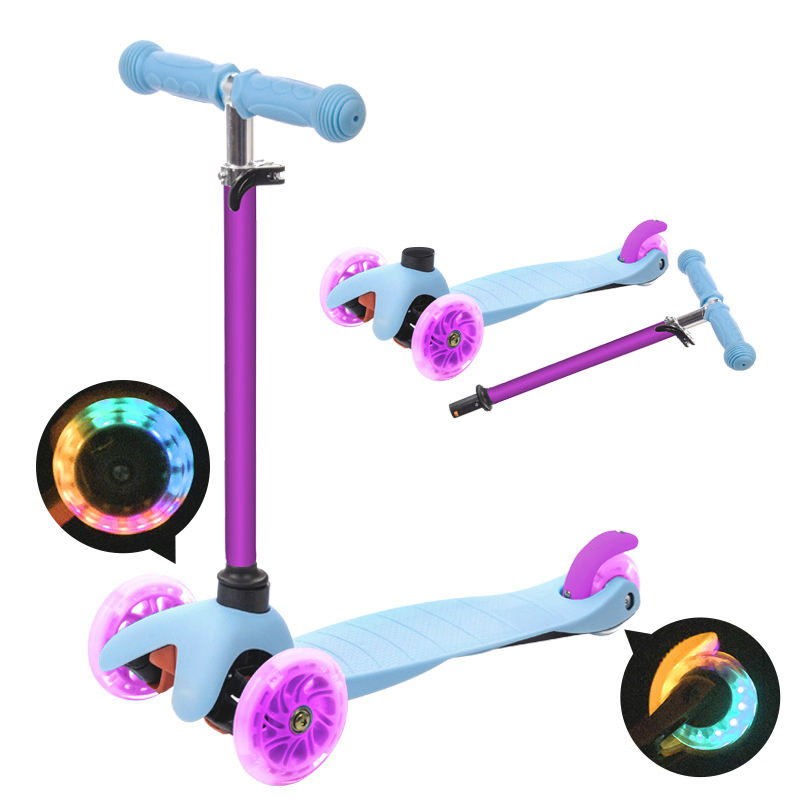 Wholesale Chinese Kick board mini Scooter kids toy skating scooter for kids