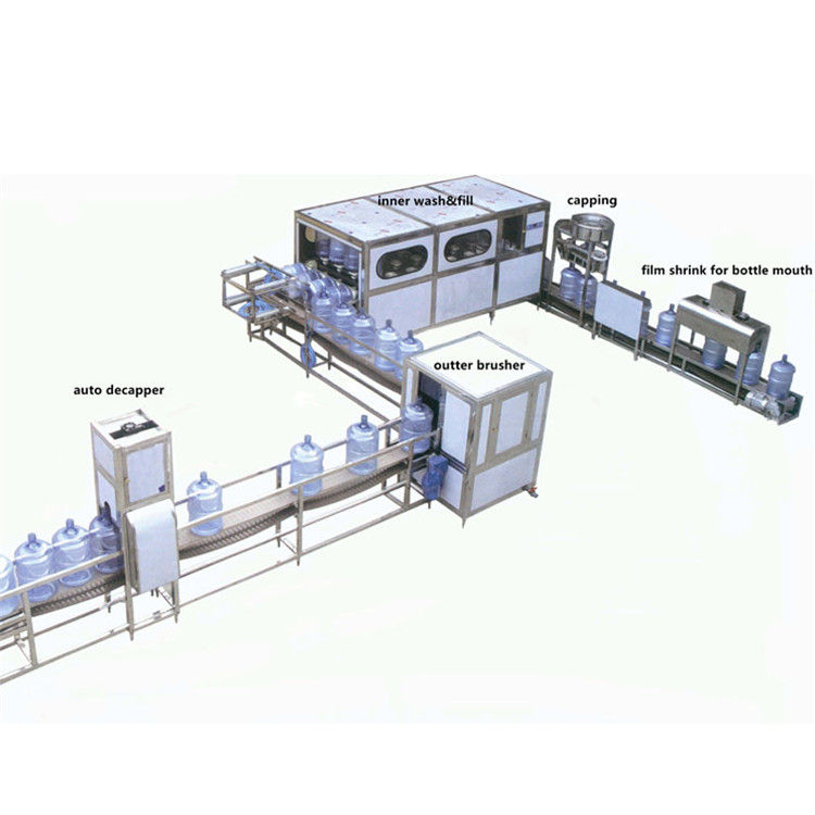 automatic carbonated drink/water bottle filling machine, capping machine and labeling production line