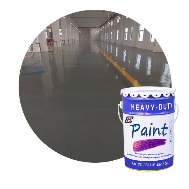 Leveling epoxy floor paint Electronic chemical workshop dust-proof and wear-resistant anti-corrosion anti slip floor paint