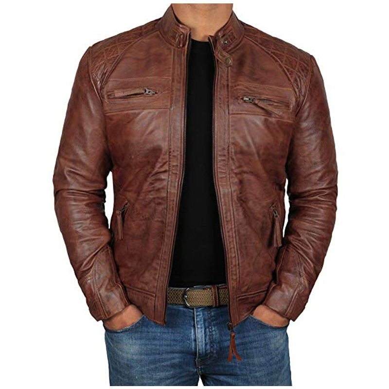 Pakistan Made Wholesale Superb Quality PU Leather Jackets In Stock PU Women's Biker Leather Jackets