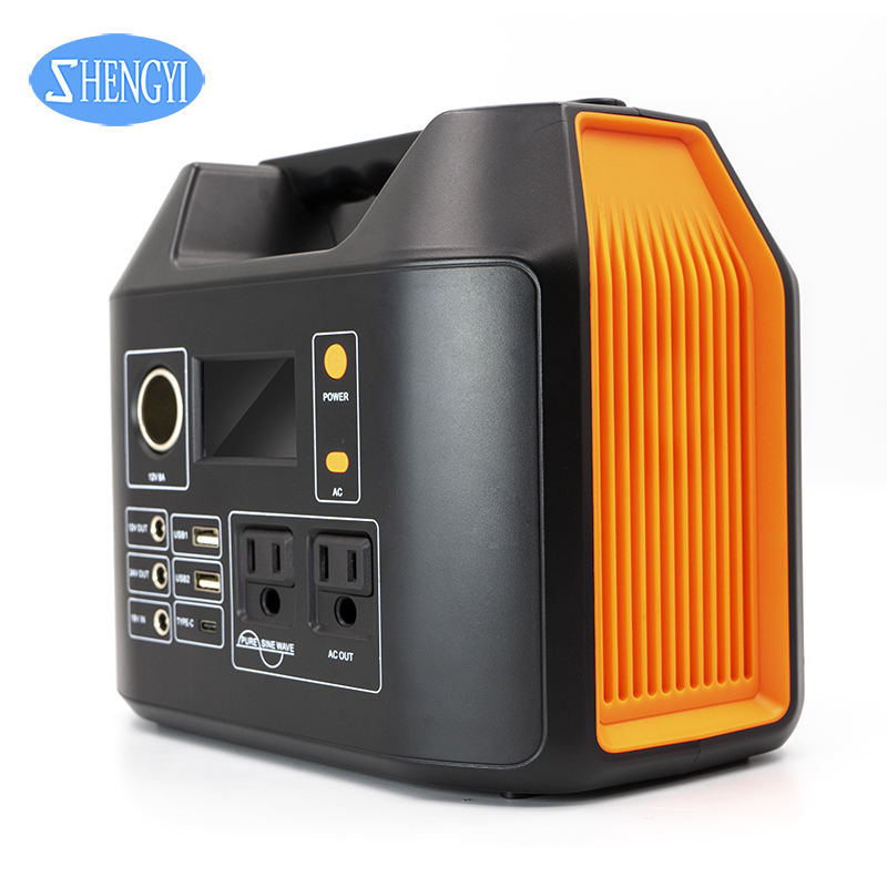 Solar Storage Lithium Battery Portable Outdoor Emergency UPS Solar Power Bank