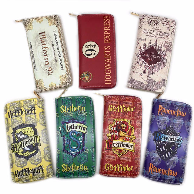 Wallet Harry Potter Hogwart Bag Wallet Collection Handbags Travel Backpack Christmas Party Prop Gifts