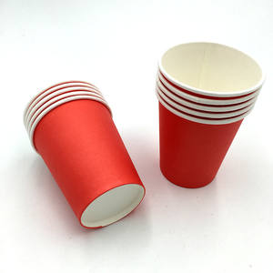 china custom printing disposable biodegradable paper cone cup for hot drinks