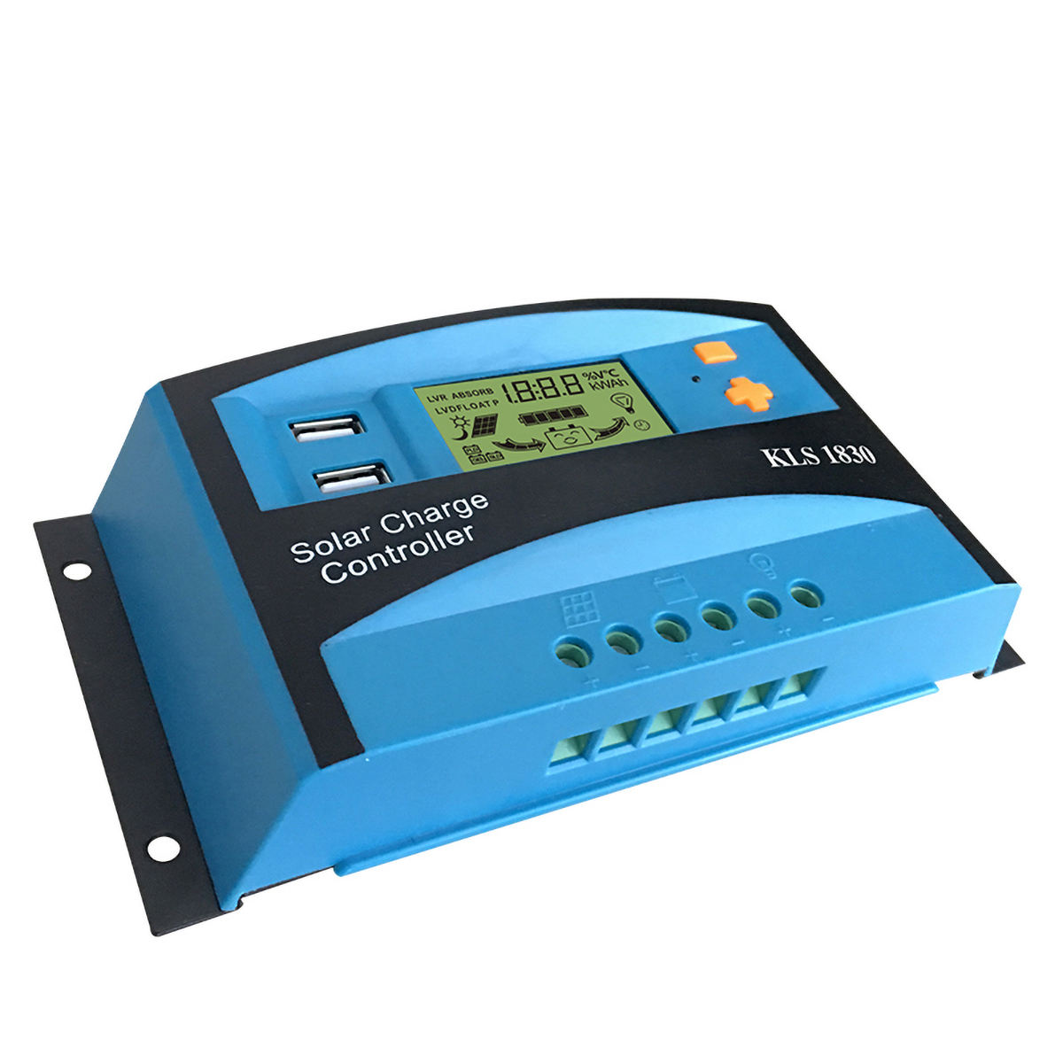 Solar system 12V 24VAuto low price 30A manual pwm solar charge controller