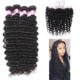 Brazilian Human Hair Extensions Hair Extension Bundles 12 Hour Delivery Loose Brazilian Grade 8a 9a 10a 12a Human Hair Bundle Hand Tied Extensions Deep Wave Bundles