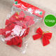 Classic 12 Pack 6cm red christmas bow christmas decorations wholesale Yiwu Christmas products